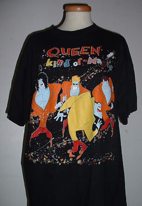 Queen A Kind Of Magic - Tour T-Shirt t-shirt European QUETSAK330428