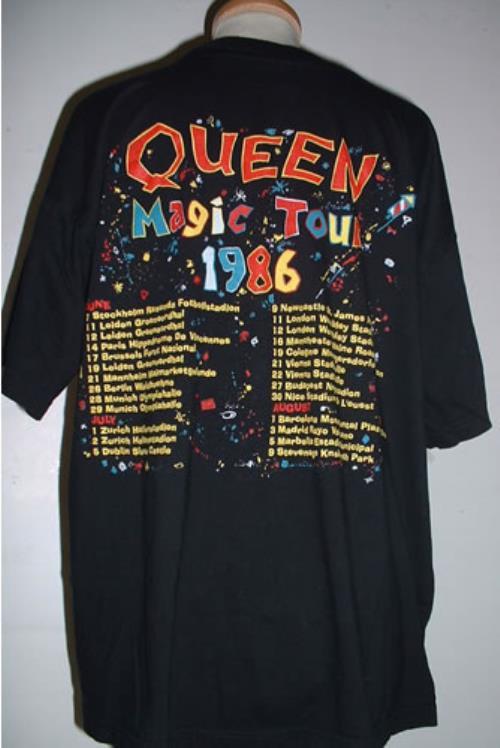 Queen A Kind Of Magic Tour T Shirt European T Shirt 330428