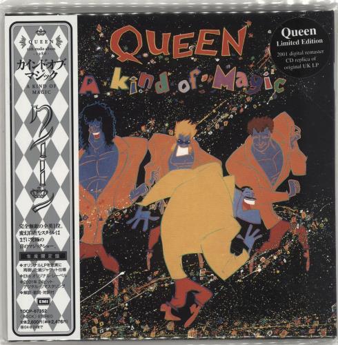 Queen A Kind Of Magic CD album (CDLP) Japanese QUECDAK279596