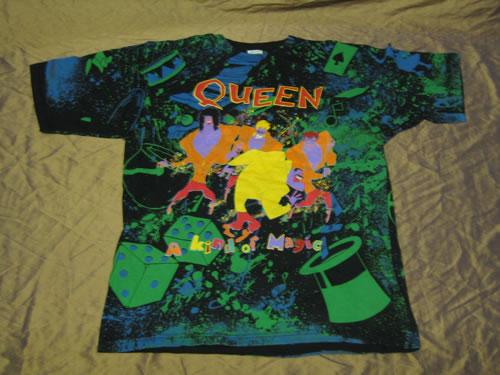 Queen A Kind Of Magic t-shirt UK QUETSAK345345