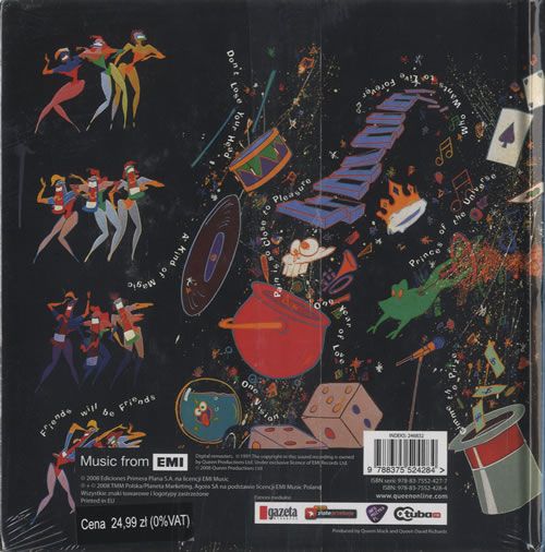 Queen A Kind Of Magic CD album (CDLP) Polish QUECDAK463631