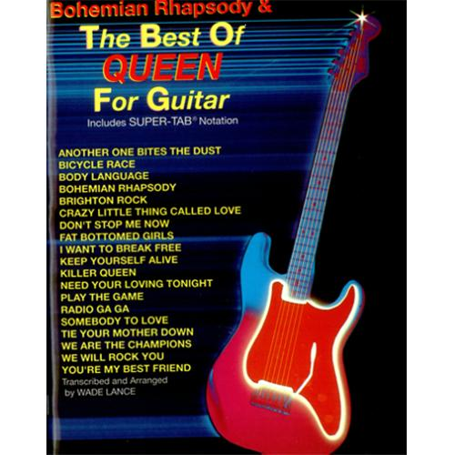 Guitar bohemian rhapsody guitar tabs : Queen Bohemian Rhapsody & The Best Of Queen For Guitar US sheet ...