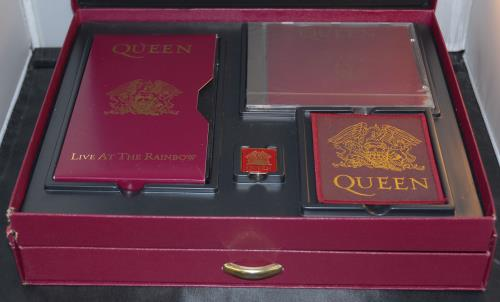 Queen Box Of Tricks Incomplete Uk Box Set 99156