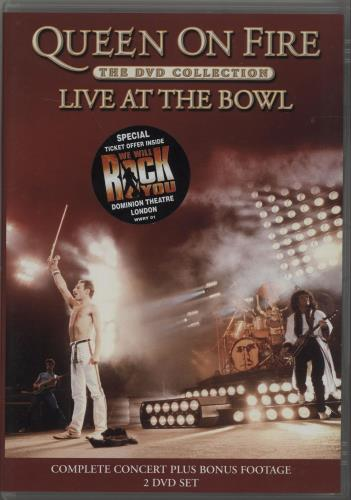 Queen Queen On Fire Live At The Bowl Uk Dvd 305423