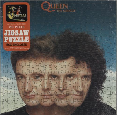 Queen The Miracle Uk Memorabilia 219284 Jigsaw Puzzle
