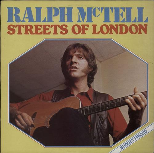 Ralph Mctell Streets Of London Uk Vinyl Lp Album Lp