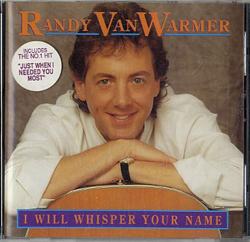 Randy Vanwarmer I Will Whisper Your Name Irish Cd Album