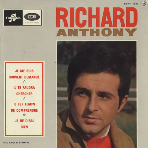 Richard Anthony Je Me Suis Souvent Demand 233 Ep French 7