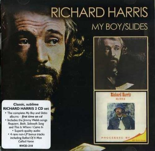 Richard Harris My Boy Slides Australian 2 Cd Album Set