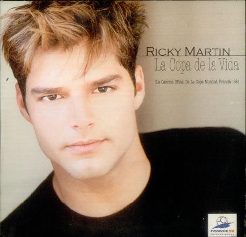 Ricky Martin La Copa De La Vida French CD single (CD5 / 5