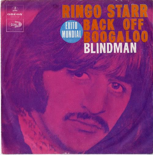 Ringo Starr Back Off Boogaloo P S Colombian 7 Quot Vinyl