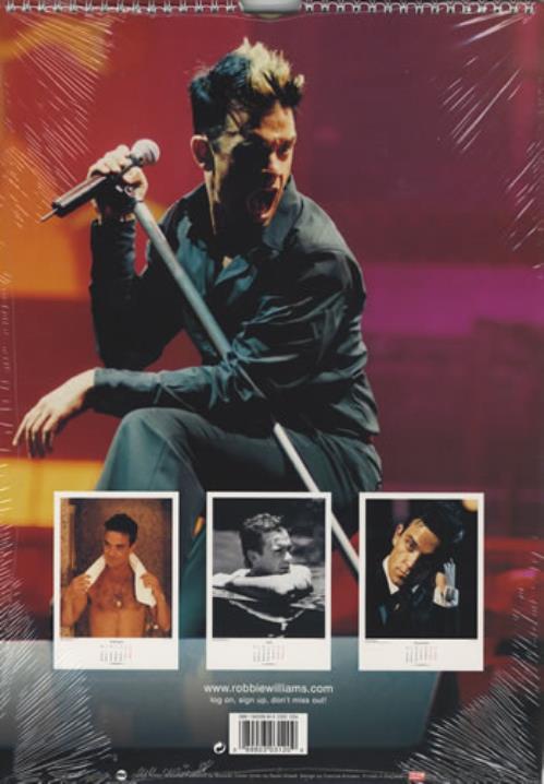 Robbie Williams Calendar 2003 UK calendar (225440) 120
