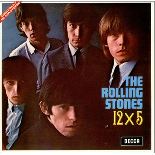 Rolling Stones 12 X 5 Digitally Remastered Silver Label