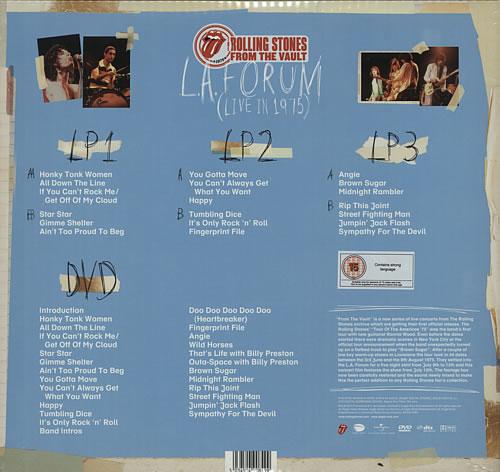 Rolling Stones From The Vault La Forum Live In 1975