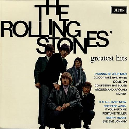 Rolling Stones Greatest Hits Dutch Vinyl Lp Album Lp