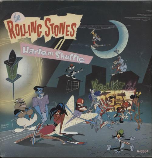 Rolling Stones Harlem Shuffle Dutch 7 Quot Vinyl Single 7