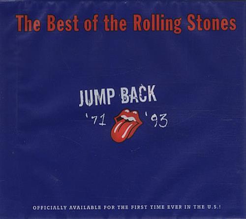 Rolling Stones Jump Back 71 93 Us Cd Album Cdlp 300640
