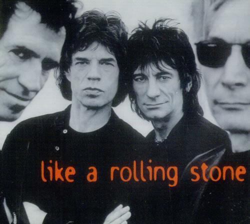 Rolling Stones Like A Rolling Stone Uk Cd Single Cd5 5