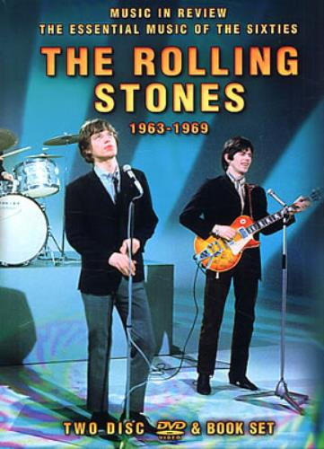 Rolling Stones Music In Review 1963 1969 Uk Dvd 343430