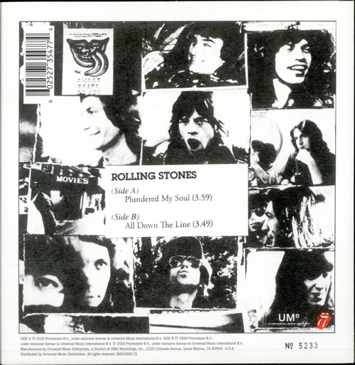 Rolling Stones Plundered My Soul Record Store Day Us 7