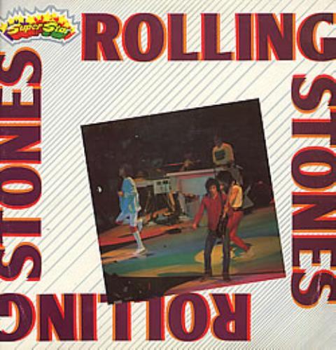 Rolling Stones Rolling Stones Superstar Italian Vinyl Lp