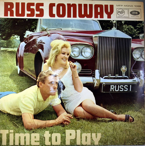 russ conway time to play uk vinyl lp album lp record 560809. Black Bedroom Furniture Sets. Home Design Ideas