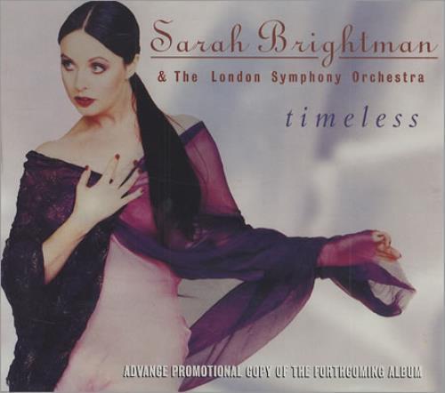 Sarah Brightman Timeless German Promo Cd Album Cdlp 137564