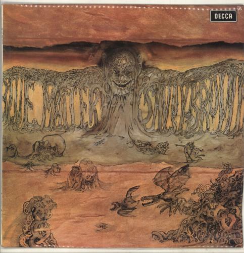 Savoy Brown Blue Matter 1st Uk Vinyl Lp Album Lp Record