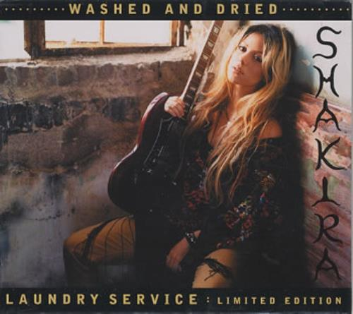 Shakira Laundry Service Washed Amp Dried Us 2 Disc Cd Dvd
