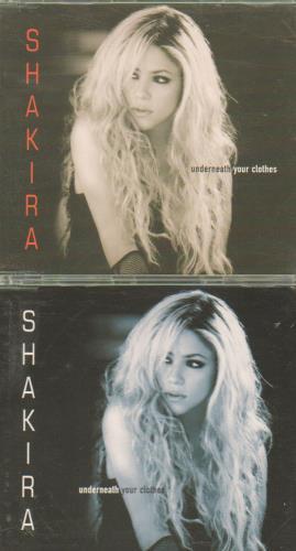Shakira Underneath Your Clothes Uk 2 Cd Single Set Double