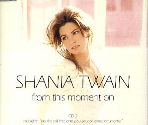 Shania Twain From This Moment On Uk 2 Cd Single Set
