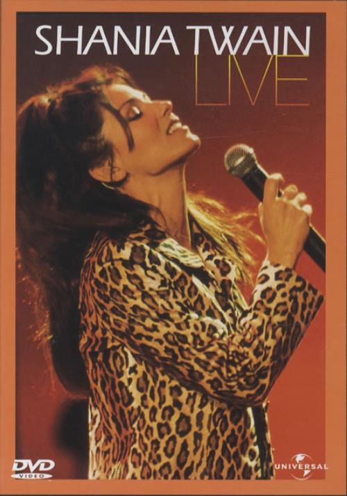 Shania Twain Live Uk Dvd 245256