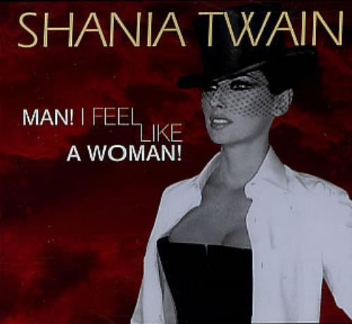 Shania Twain Man I Feel Like A Woman Australian Promo Cd