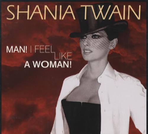 Shania Twain Man I Feel Like A Woman Us Promo Cd Single