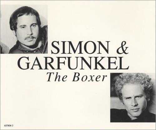 Simon Amp Garfunkel The Boxer Austrian Cd Single Cd5 5