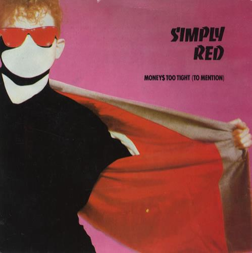 Simply red money 39 s too tight to mention uk 7 vinyl for Simply singles