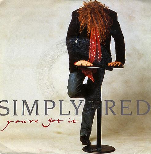 Simply red you 39 ve got it uk 7 vinyl single 7 inch record for Simply singles