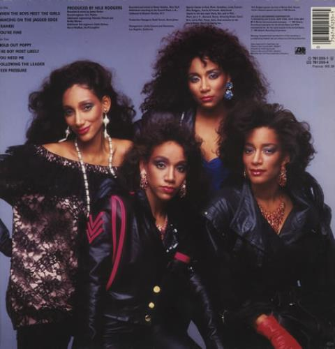 sledge single girls Sister sledge is an american musical vocal group from philadelphia,  pennsylvania formed in 1971  remixed versions of three of their singles in  1993 returned them to the uk top 20 although  1 $899 bet cha say that to  all the girls.