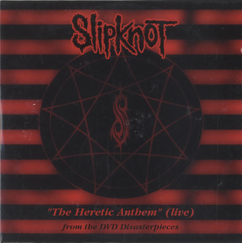 Slipknot The Heretic Anthem Live Uk Promo Cd Single Cd5