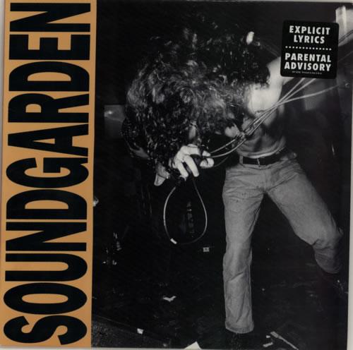 Soundgarden Louder Than Love - Green Vinyl US Promo vinyl ...
