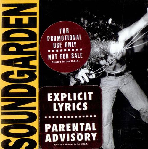 Soundgarden Louder Than Love US Promo CD album (CDLP) (498165)