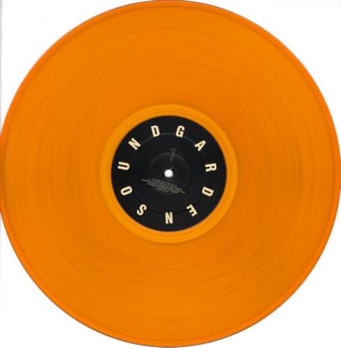 Soundgarden Superunknown Orange Vinyl Us 2 Lp Vinyl