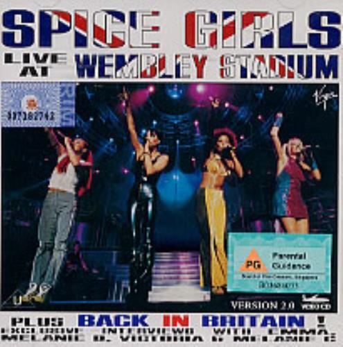 Spice Girls Live At Wembley Stadium Video CD Malaysia PICVDLI152213