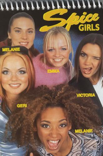 Spice Girls Spice Girls Notebook - Names Cover UK ...