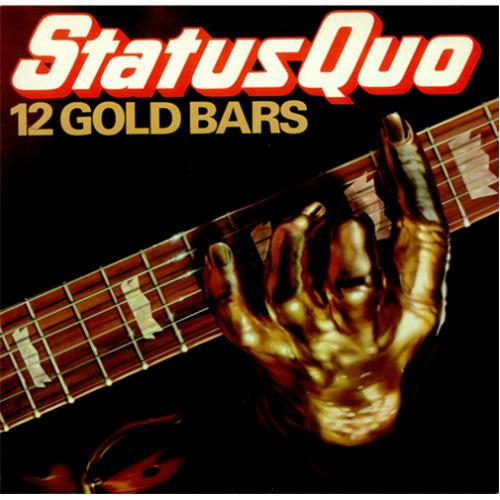 Status Quo 12 Gold Bars Uk Vinyl Lp Album Lp Record 228722