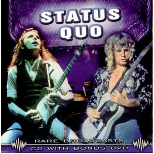 Status Quo Rare Broadcasts Uk 2 Disc Cd Dvd Set 421150