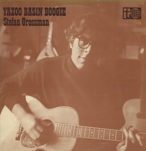 Stefan Grossman Yazoo Basin Boogie 1st Uk Vinyl Lp Album