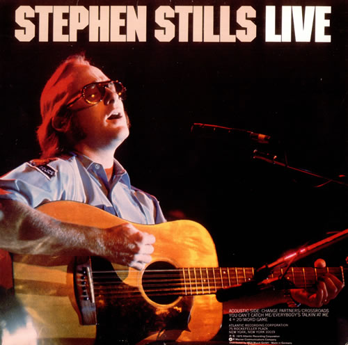 Stephen Stills Live German Vinyl Lp Album Lp Record 527451