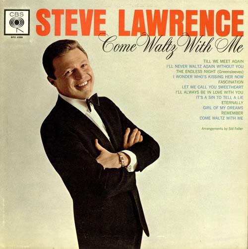 Steve Lawrence Come Waltz With Me Uk Vinyl Lp Album Lp