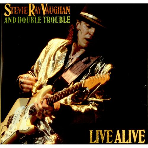 Stevie Ray Vaughan Live Alive Us 2 Lp Vinyl Record Set